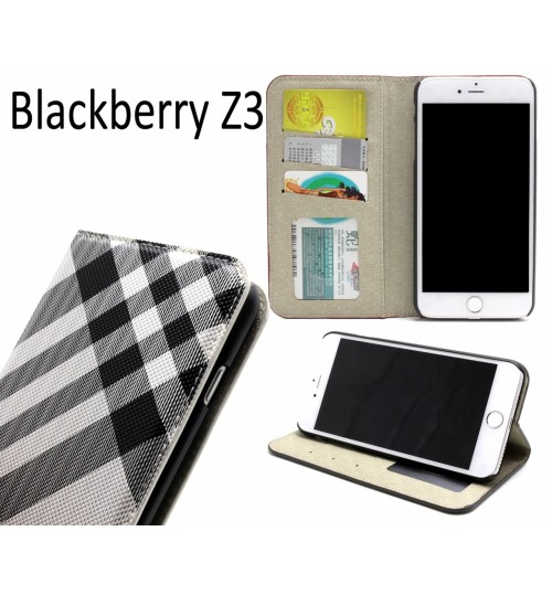 Blackberry Z3 case wallet Leather case