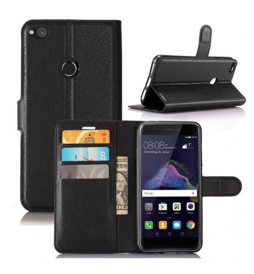 Huawei Nova Lite wallet leather case+Pen