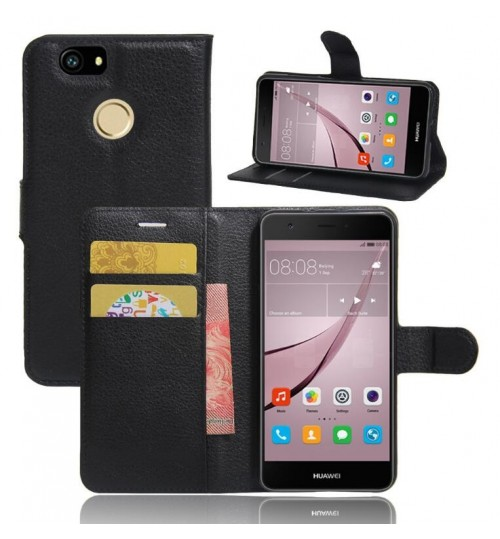 Huawei Nova wallet leather case+Pen