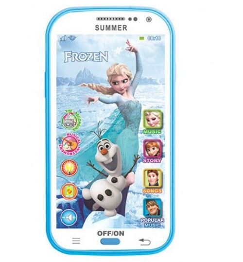 Frozen Princess Inspired Electric Learning Machine