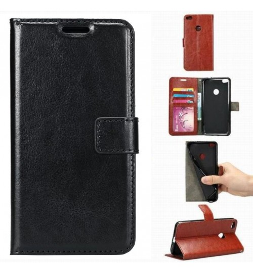 Huawei Nova Lite vintage fine leather wallet case