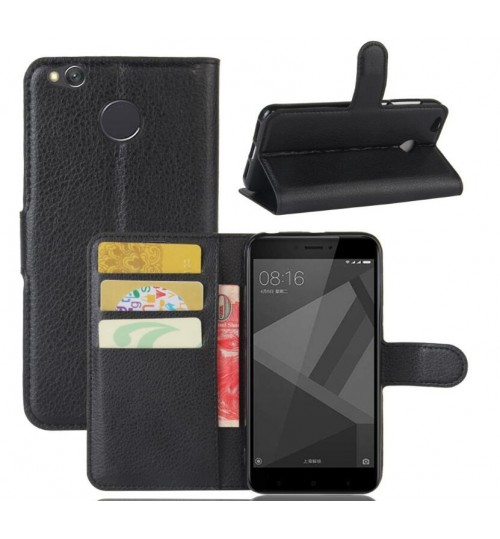 Xiaomi Redmi 4X Wallet leather cover