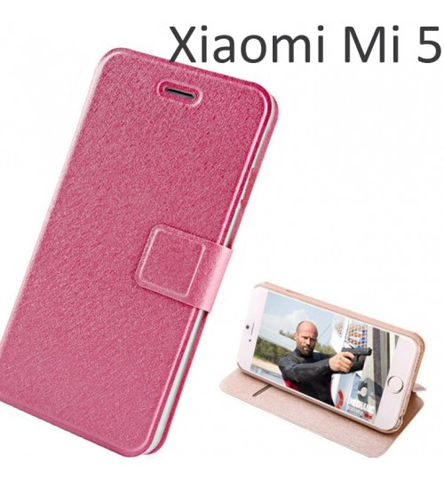 Xiaomi Mi 5 luxury flip leather case