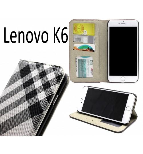 Lenovo K6 case wallet Leather case
