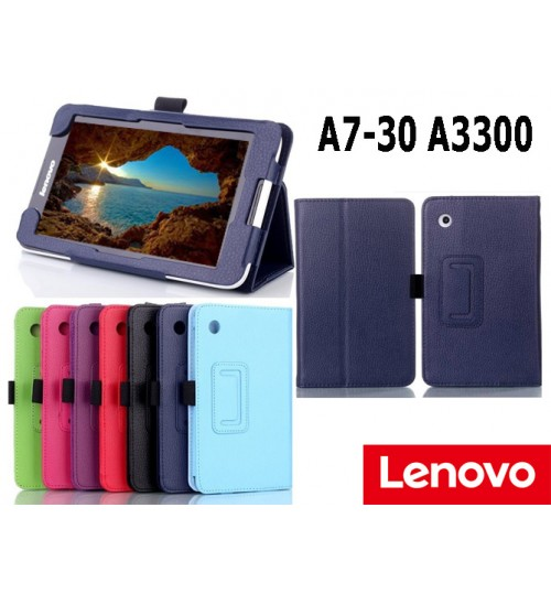 Lenovo Tab 2 A7-30 A3300 Tablet leather case+PEN
