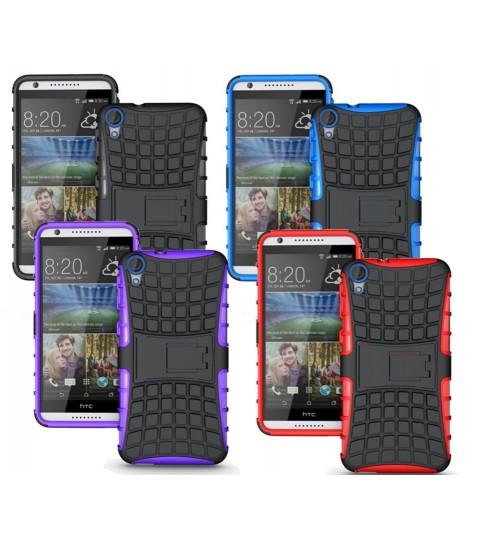 HTC Desire 820 Heavy Duty Hybrid Kickstand case