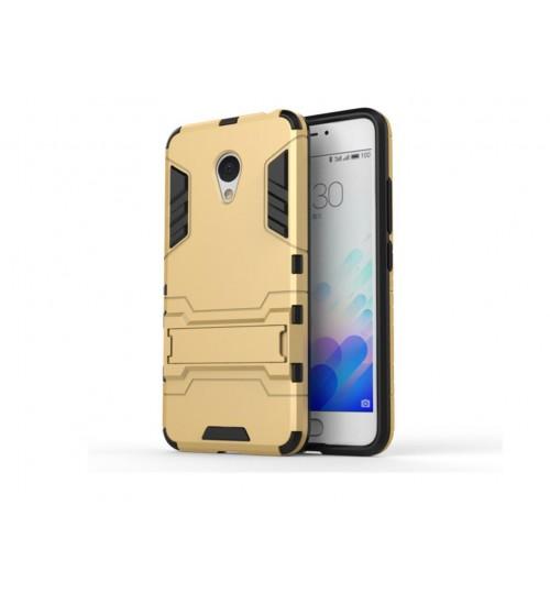 MEIZU M3 NOTE Dual Defender Hybrid Kickstand Case