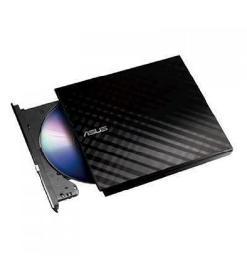 ASUS SDRW-08D2S-U Lite External Slim 8x DVD Writer USB 2.0 - Black Colour