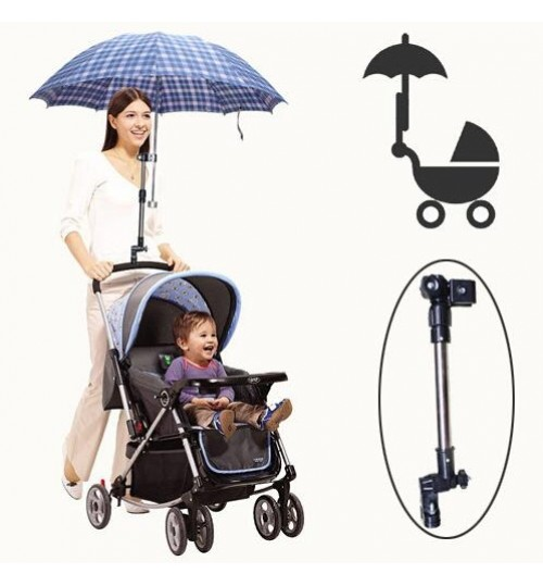 Baby Pushchair Chair Umbrella Bar Holder Mount Stander Stroller