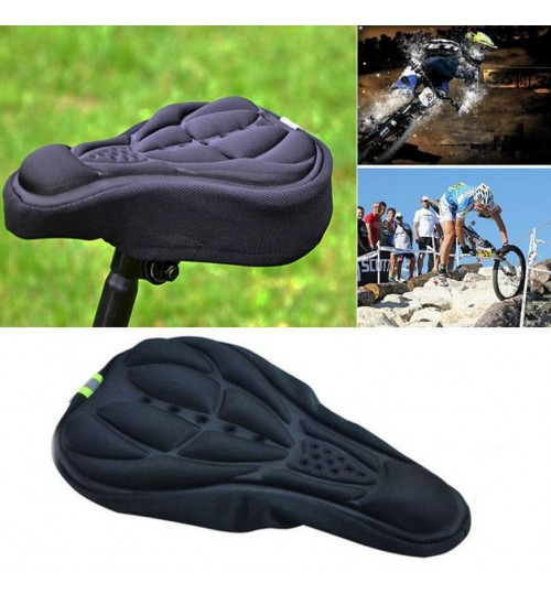 Bike Seat 3D Silicone Gel Pad Seat Saddle Cover