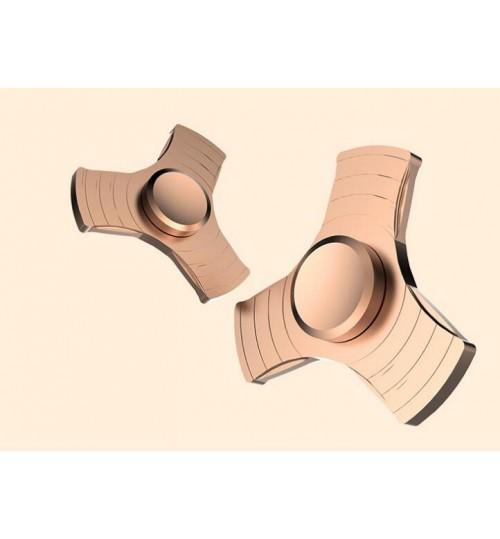 Tri Fidget Spinner GOLD