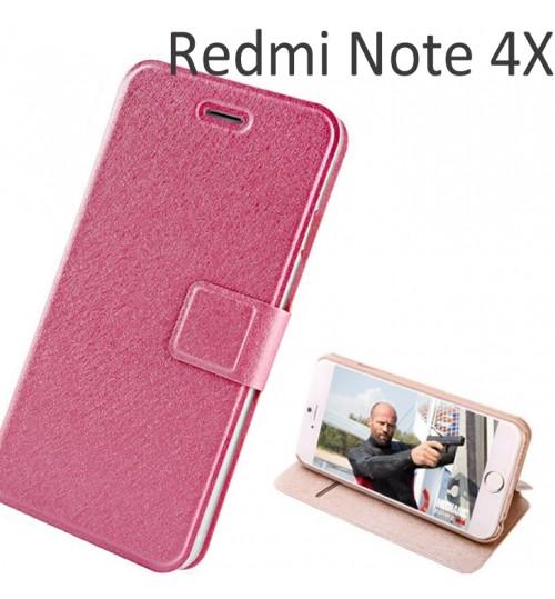 Xiaomi Redmi Note 4X luxury flip leather case