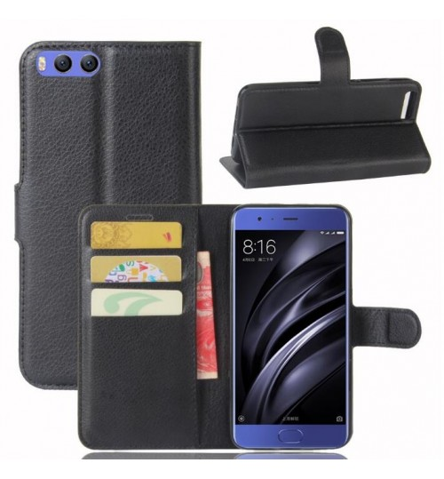 Xiaomi Mi 6 wallet leather case+Pen