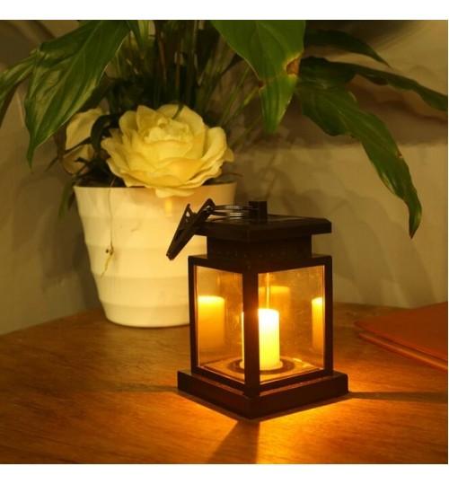 Solar Lamp LED Lantern Outdoor Garden Wall Light