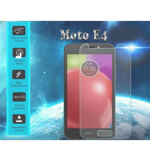 MOTO E4 Tempered Glass Screen Protector