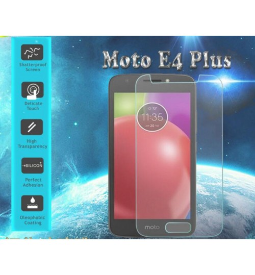 MOTO E4 PLUS Tempered Glass Screen Protector