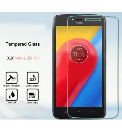 MOTO C PLUS Tempered Glass Screen Protector