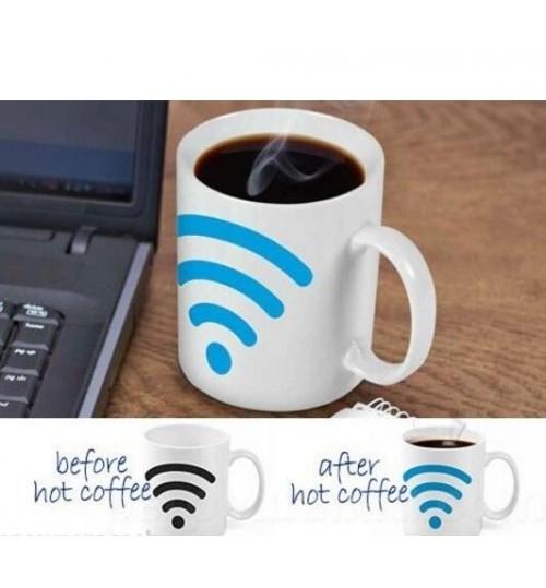 Coffee Mug Hot Spot Color Changing Mug