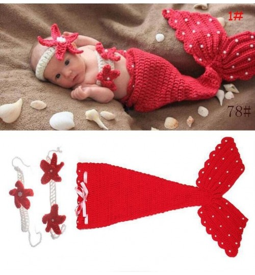 Baby mermaid photography prop set