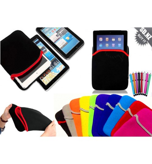 9.7 inch universal tablet sleeve case+Pen