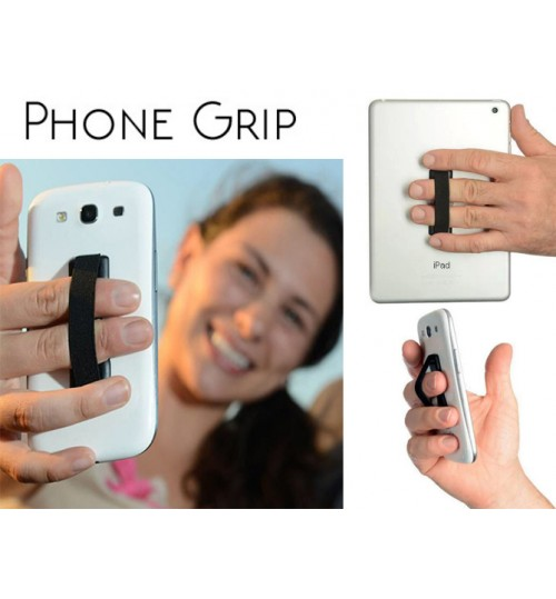 Universal Finger Strap Grip Yr Phone Tablet iPad