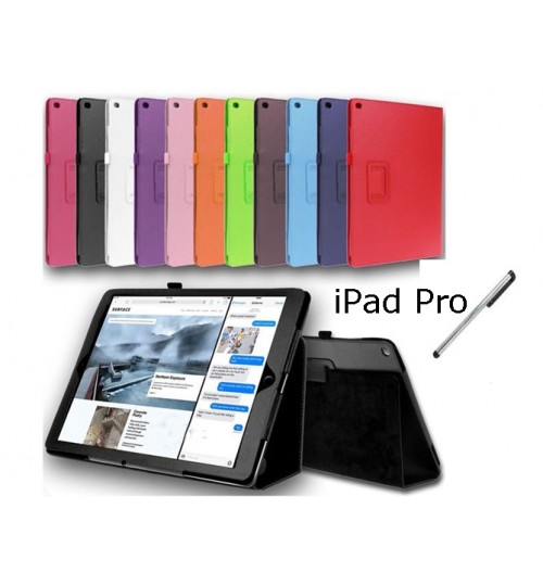 """iPad Pro 12.9"""" Smart Leather Flip Case Cover Stand"""