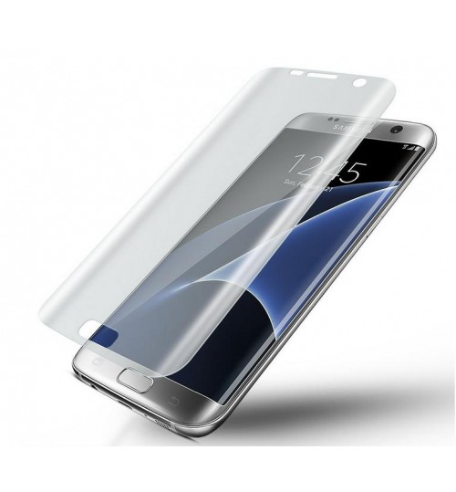 Galaxy S7 edge FULL screen protector curved Clear