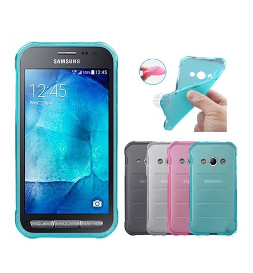 Samsung Xcover 3 case TPU Soft Gel Case+Pen