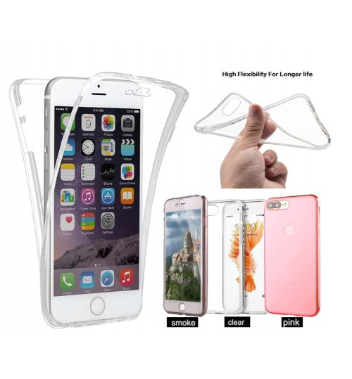 iphone 7 plus case 2 piece transparent full body protector case