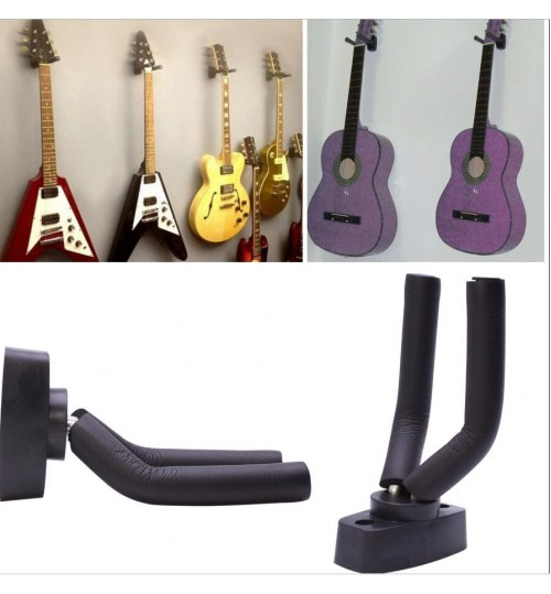 Guitar Wall Mount Hanger Holder Display for Instrument Anchor Stand