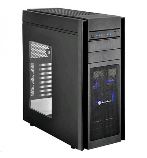 SilverStone KL05B-W ATX Tower Case Black+window