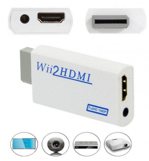 Wii HDMI Converter Adapter
