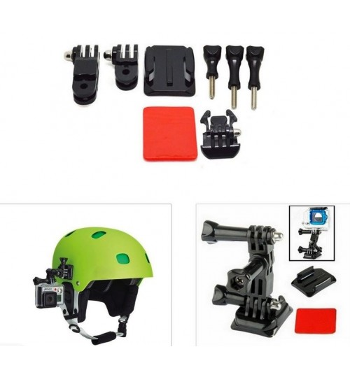 Helmet Side Mount Kit compatible with GOPRO