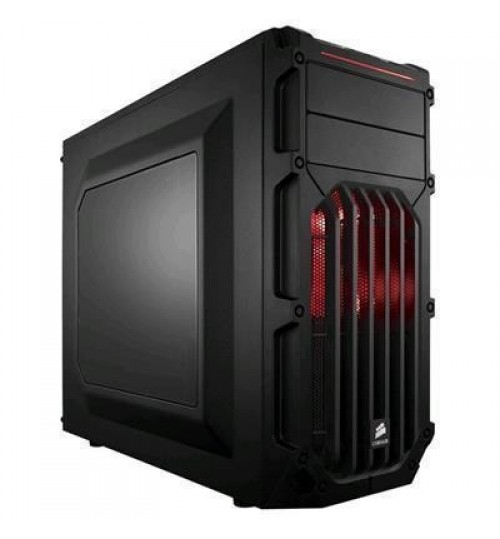 Corsair Carbide Series SPEC-03 Mid Tower Case Red LED - Windowed
