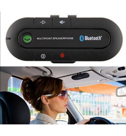 Car Bluetooth Handsfree Speakerphone Multipoint Bluetooth Wireless Sun Visor