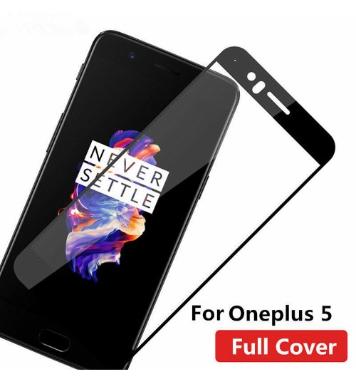 Oneplus 5 fully covered Curved Tempered Glass screen protector