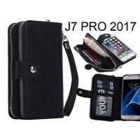 Galaxy J7 PRO Case coin wallet case full wallet leather case