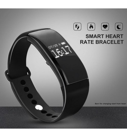 Smart Watch Heart Rate Monitor with Sleeping Track Calls Reminder Alarm Clock