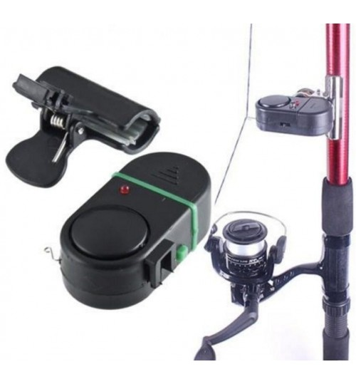 Electronic Bite Fish Alarm Bell with LED Light