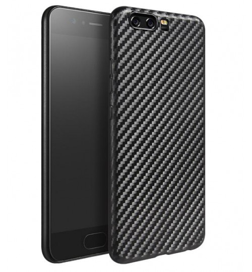 Huawei P10 PLUS case impact proof rugged case with carbon fiber