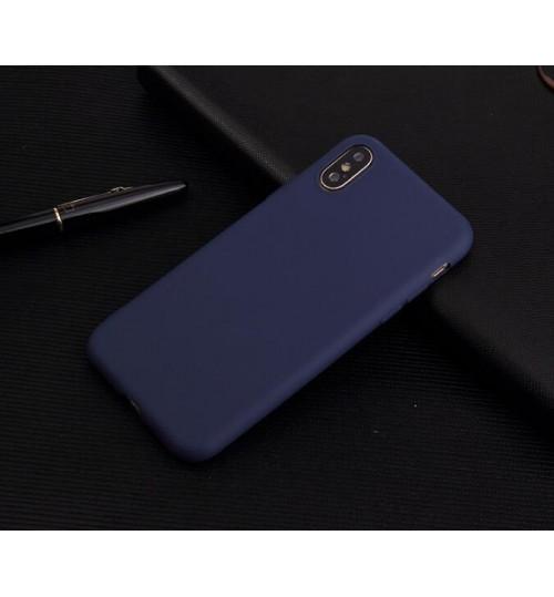Iphone X Case slim fit TPU Soft Gel Case