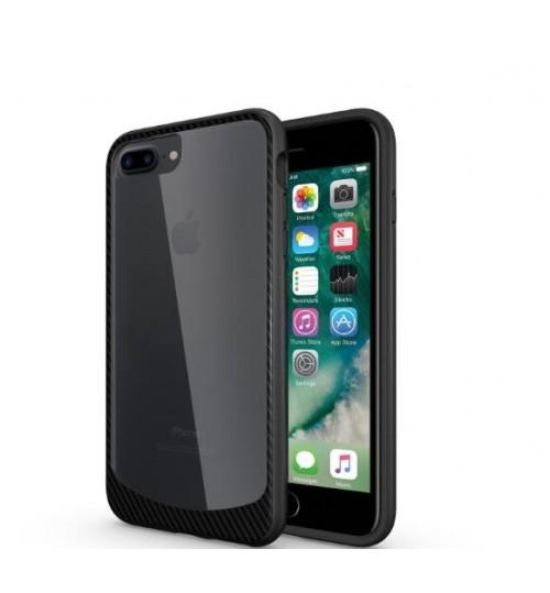 iPhone 7 Plus case bumper  clear gel back cover