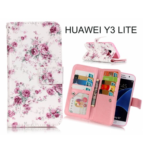 Huawei Y3 LITE Multifunction wallet leather case