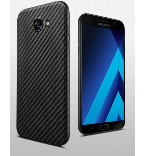 Galaxy A7 2017 case impact proof rugged case with carbon fiber