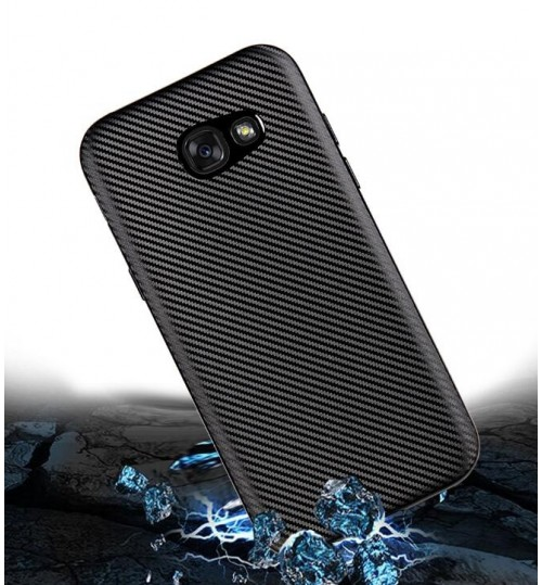 Galaxy A3 2017 case impact proof rugged case with carbon fiber