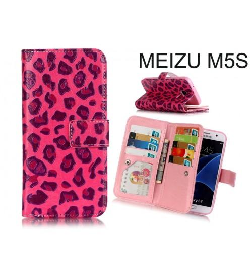 Meizu M5S CASE Multifunction wallet leather case