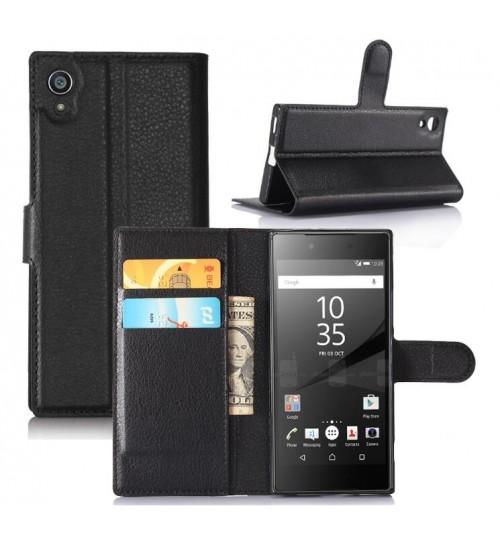 Sony Xperia XA1 wallet leather case+Pen