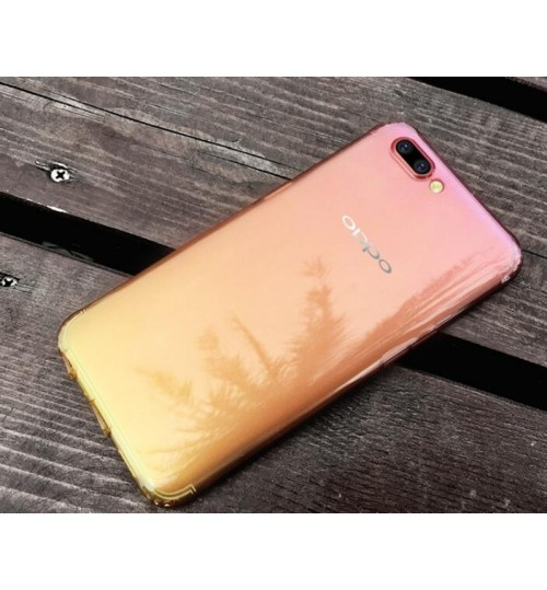 Oppo R11  TPU Soft Gel Changing Color Case