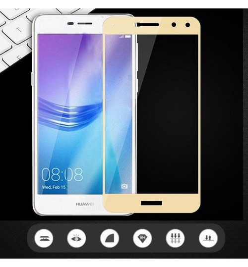 Huawei Y5 2017 FULL screen Tempered Glass Protector
