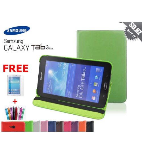 Galaxy Tab 3 7\'\' Lite  VE Leather Case Combo